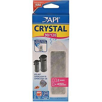 Superclean90 кристалл API / 120 X2 (рыба, Фильтры & водяные насосы, фильтр Губка пены)