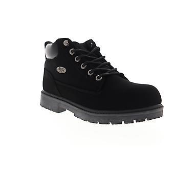 Lugz Warrant  Mens Black Synthetic Lace Up Chukkas Boots