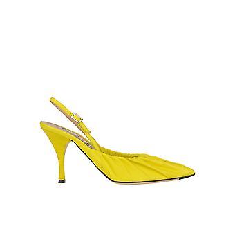 Sandali in pelle gialla Acne Studios Ezgl151030 Women's Yellow Leather
