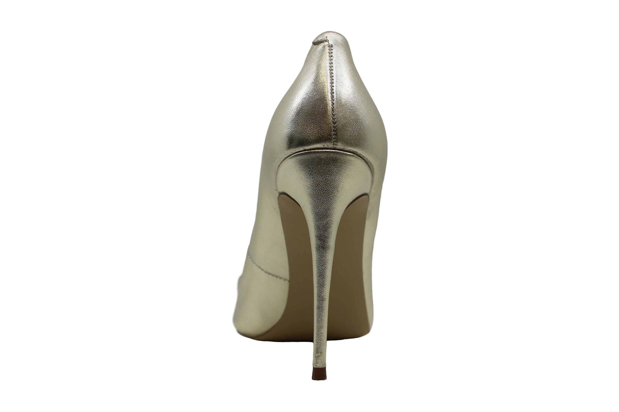 Steve Madden Daisie Pumps Gold Leather Size 8.5M