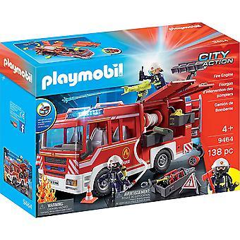 PLAYMOBIL 9464 miasto akcji strażacki z pracy armatki wodne