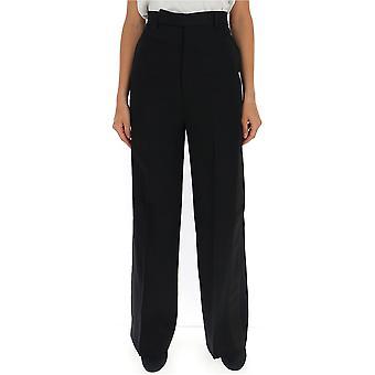 Rick Owens Rp19f5317wtcc09 Women's Black Wool Pants