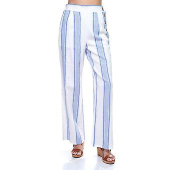 Multi stribe side knap bukser