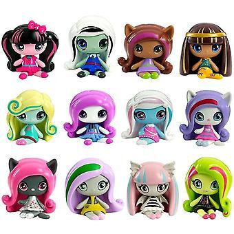 3-Pack Monster High Minis Mystery Pack Figure Doll Blind Bag S1