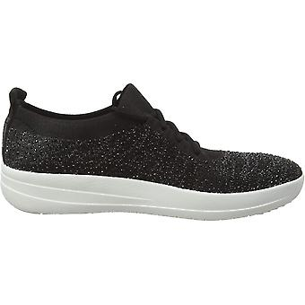 FitFlop Women's F-Sporty Uberknit Sneakers-Crystal Trainers