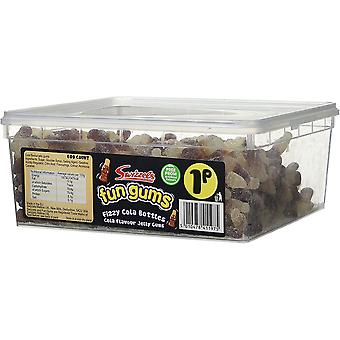 Swizzels Matlow Fizzy Cola Bottles (600) pieces 850g