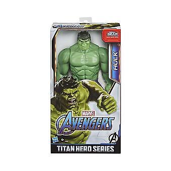 Marvel Avengers Hulk Titan Hero Deluxe Blast Gear 12 Inch Action Figure