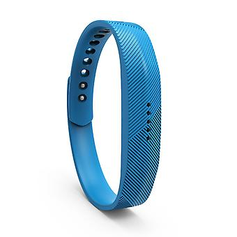 Replacement Wristband Bracelet Band Strap for Fitbit Flex 2[Large,Blue] BUY 2 GET 1 FREE