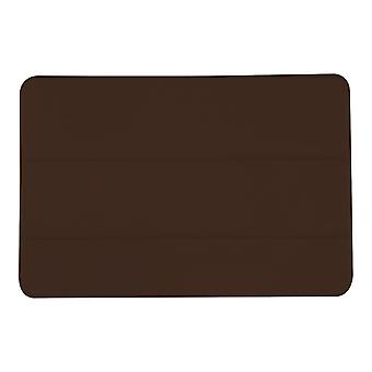 Slim PU Leather Case Cover for Samsung Galaxy Tab A 8 T350[Brown]