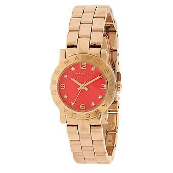 Marc Jacobs MBM3305  Female Rose Gold Stainless Steel 26MM Quartz Analog Watch
