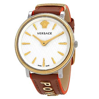 Versace VBP070017 The Edition Stainless Steel Quartz Ladies Watch
