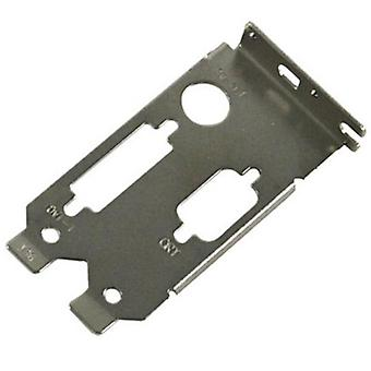 Low Profile (LP) Bracket, Dual, DVI/SVideo & VGA (M020-00-000046)