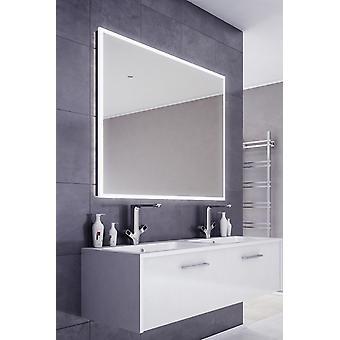 Espejo de baño de borde delgado de audio con Bluetooth y sensor k717aud