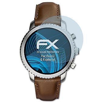 atFoliX Pellicola Vetro compatibile con Fossil Q Explorist 9H Armatura di protezione
