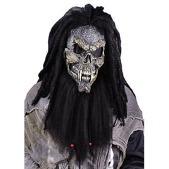 Pelottavan kasvot Skull Halloween