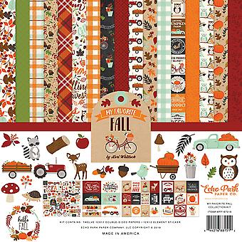 Echo Park My Favorite Fall 12x12 Inch Collection Kit