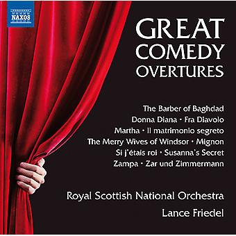 Herold / Royal Scottish National Orchestra / Fried - grande commedia Overtures [CD] USA import