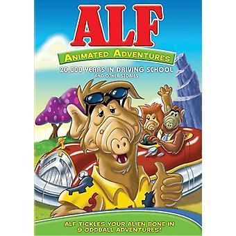 Alf - aventuras animadas [DVD] EUA importar
