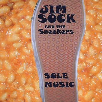 Jim Sock & the Sneekers - Sole Music [CD] USA import