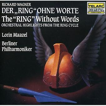 Maazel/Berlin Philharmonic - Wagner: The Ring Without Words [CD] USA import