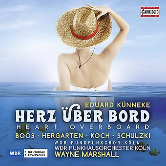 Kunneke / Boos - Herz Uber Bord [CD] USA import