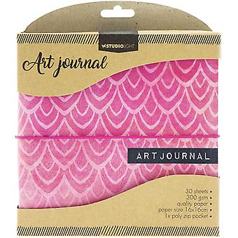 "Studio Light Essentials Art Journal 6,25""X6.25""-"