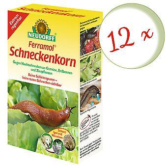 Sparset: 12 x NEWDORFF Ferramol® grãos de caracol, 200 g