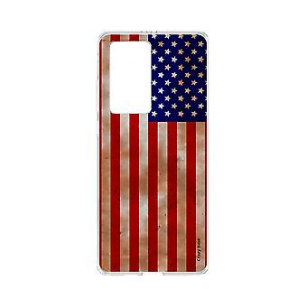 Hull For Huawei P40 Pro Soft Flag Usa