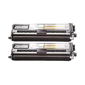 RudyTwos 2x Replacement for Brother TN328BK Toner Unit Black (Extra High Yield) Compatible with CP-8070D, DCP-8085DN, HL-5340D, HL-5350DN, HL-5350DNLT, HL-5370DW, HL-5380DN, MFC-8370DN, MFC- 8380DN, M