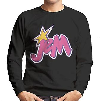 Jem And The Holograms Light Pink Logo Men's Sweatshirt