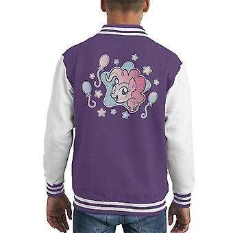 My Little Pony Pinkie Pie Ilmapallot ja tähdet Kid&s Varsity Takki
