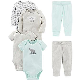 Simple Joys by Carter's Baby 6-Piece Bodysuits (Short and Long Sleeve) and Pa...