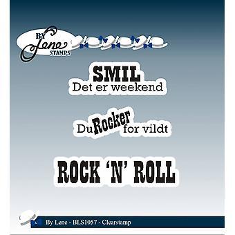 Av Lene Clearstamp Rock'n' Roll (Dansk Tekst) (BLS1057)
