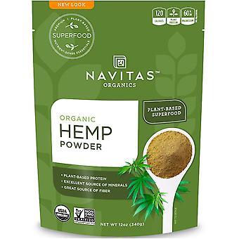 Navitas Organics, Organic Hemp Powder, 12 oz (340 g)