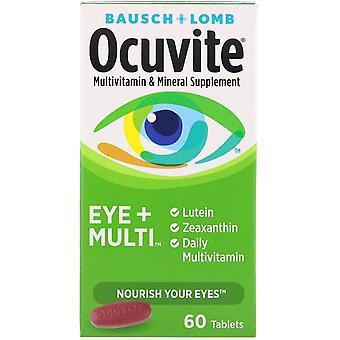 Bausch & Lomb, Ocuvite, Eye + Multi, 60 Tablets
