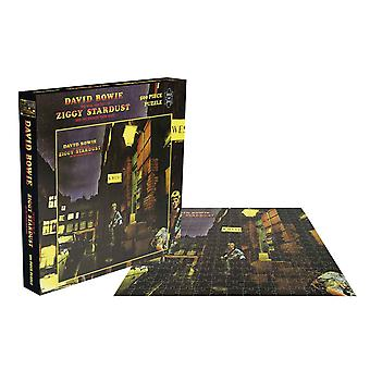 David Bowie Jigsaw The Rise And Fall Of Ziggy Stardust nieuwe Officiële 500 Piece