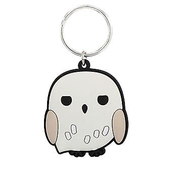 PVC Key Chain - Harry Potter - Hedwig Soft Touch New 48421