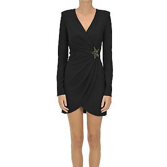 P.a.r.o.s.h. Ezgl081061 Women's Black Polyester Dress