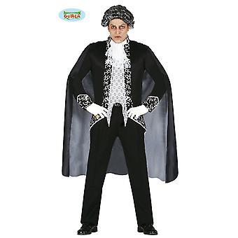 Vampiro noble Señor Halloween horror fiesta de disfraces para que la sangre de los hombres traje Conde Drácula