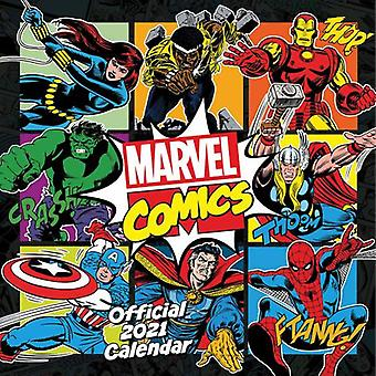 Marvel Comics Kalender 2021