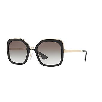 Prada SPR57U 1AB/0A7 Black/Grey Gradient Sunglasses