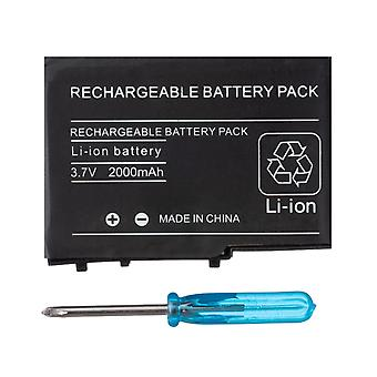 2000mah 3.7v Rechargeable Lithium-ion Battery + Tool Pack Kit For Nintendo