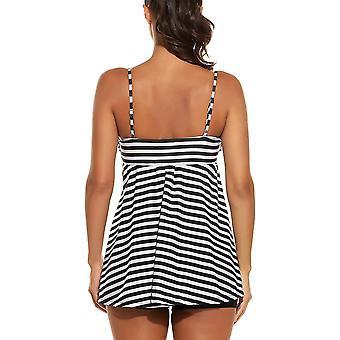 ADOME اثنين من ملابس السباحة قطعة للمرأة أعلى وأسفل مجموعة ملابس السباحة