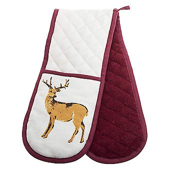 Foxwood Home Winter Lodge Double Oven Glove