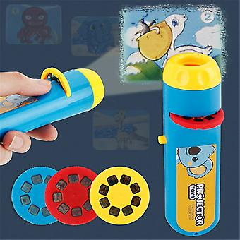 Children's Camera Flashlight Projection Realistic Toys - The Animal World