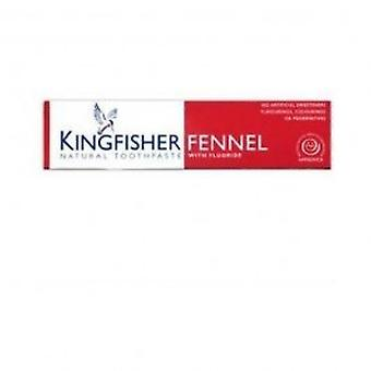 Kingfisher - fenouil & dentifrice au fluorure 100ml
