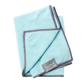 Dog Towel Microfibre Blue Fuzzyard
