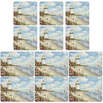Pimpernel Ray of Hope Placemats and Coasters