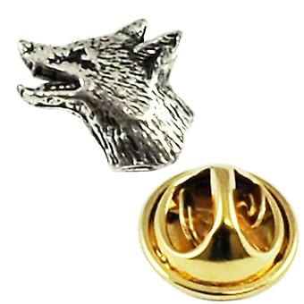 Ties Planet Lille Fox Head engelsk tin Revers Pin Badge