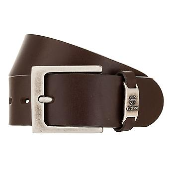 Strellson Belt Men's Belt Leather Belt Brown 2046